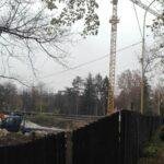 На Студентській Набережній розгорнули небезпечне будівництво (фото)
