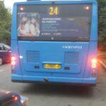 Ужгородці скаржаться на відхилення водіїв комунальних автобусів від маршруту №24