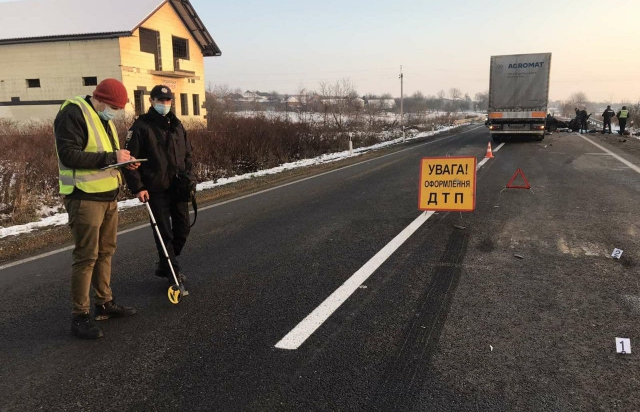 Жахлива аварія на Мукачівщині: загинуло 5 людей, серед яких 2 дітей (ФОТО, ВІДЕО)