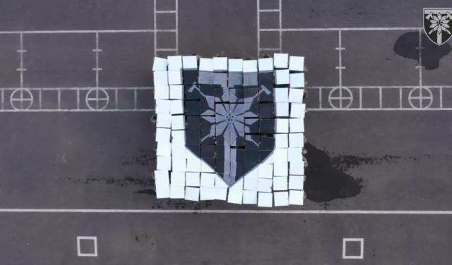 128 окрема гірсько-штурмова Закарпатська бригада розпочала флешмоб до дня ЗСУ (ВІДЕО)
